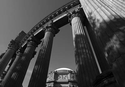 The Palace Of Fine Arts In San Francisco Art Print by Yue Wang