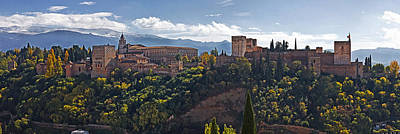 Photograph - The Palace Of The Alhambra by Levin Rodriguez