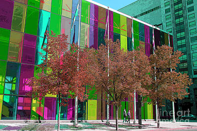 Photograph - The Palais Des Congres In Montreal by Nina Silver
