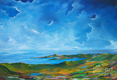 The Palette Of Ireland # 2 Art Print