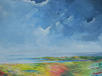Painting - The Palette Of Ireland by Conor Murphy