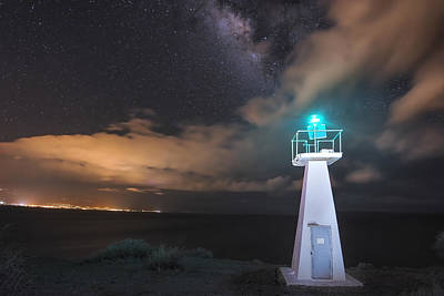 The Pali Lighthouse Art Print by Hawaii  Fine Art Photography