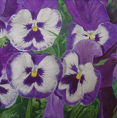 The Pansy Brothers Art Print
