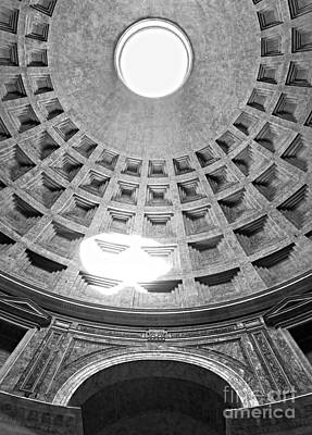 The Pantheon - Rome - Italy Art Print by Luciano Mortula