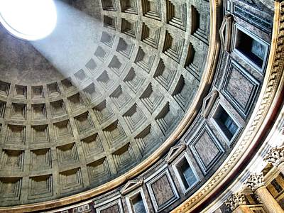 Wheatley Wolf Photograph - The Pantheon Dome by Jennifer Wheatley Wolf