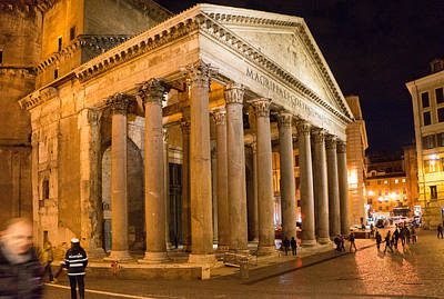 Photograph - The Pantheon by Mike Evangelist