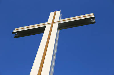 Photograph - The Papal Cross by Semmick Photo