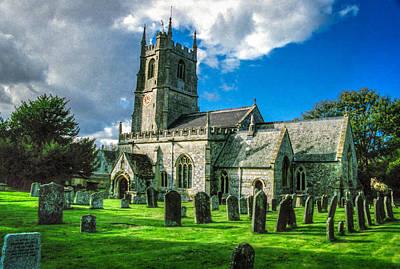 The Parish Church Of St. James Art Print by Ross Henton