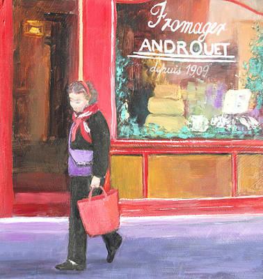 Painting - The Parisian Shopper by Jan Matson