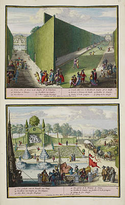 The Park At Enghien Art Print by British Library