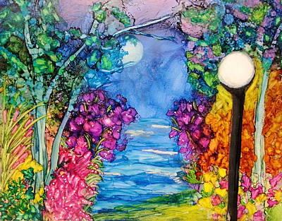 The Park Art Print by Kelly Dallas