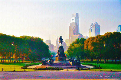 The Parkway Art Print by Bill Cannon