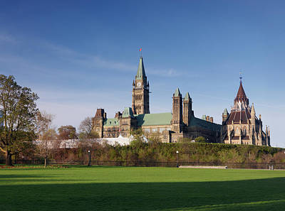 The Parliament Building In Ottawa Art Print