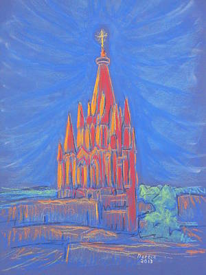 The Parroquia Art Print by Marcia Meade