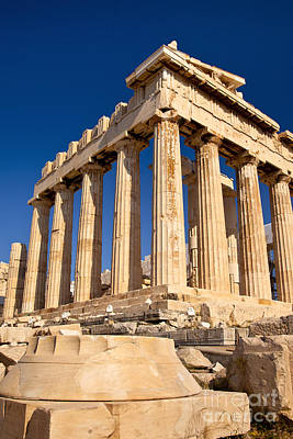 Photograph - The Parthenon by Brian Jannsen