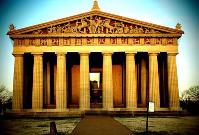Nashville Tennessee Photograph - The Parthenon by Dan Sproul