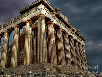 The Parthenon Art Print by David Bearden