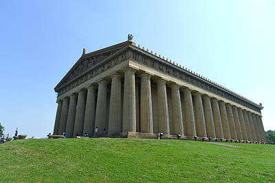 Photograph - The Parthenon In Nashville by Denise Mazzocco