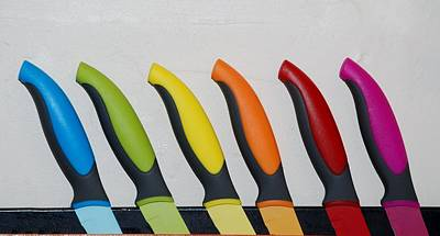 Photograph - The Partridge Family In Knives by Rob Hans