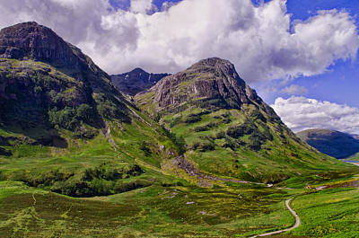 The Pass Of Glencoe Art Print