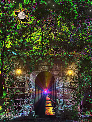 The Passageway  Original by Michael Rucker