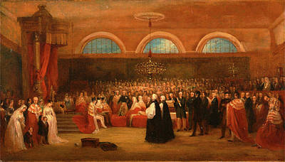 The Passing Of The Great Emancipation Act Art Print by Litz Collection