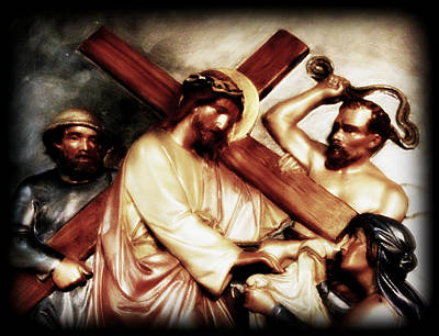 The Passion Of Christ Vii Art Print