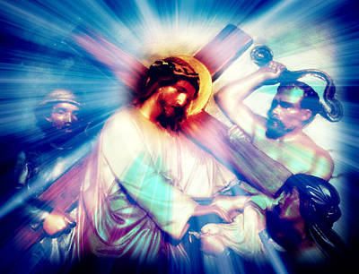 Iconography Digital Art - The Passion Of Christ Viii by Aurelio Zucco