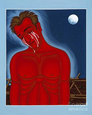 Painting - The Passion Of Matthew Shepard 096 by William Hart McNichols