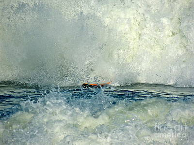 Photograph - The Passionate Surfer by Eve Spring