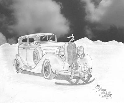 Vintage Cars Drawings Page 7 Of 14 Fine Art America