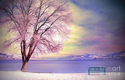 The Pastel Dreams Of Winter Print by Tara Turner