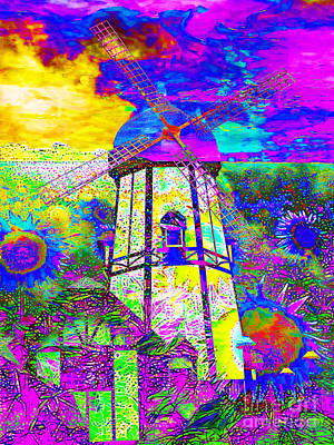 The Pastoral Dreamscape 20130730 Art Print by Wingsdomain Art and Photography