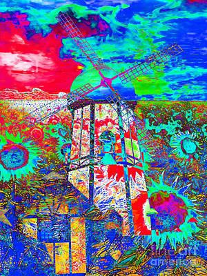The Pastoral Dreamscape 20130730m68 Art Print