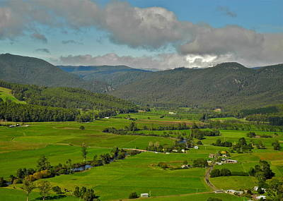 Photograph - The Pastoral Look Of Tasmania by Kirsten Giving