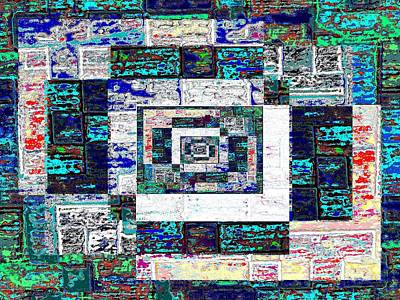 The Patchwork Art Print by Tim Allen