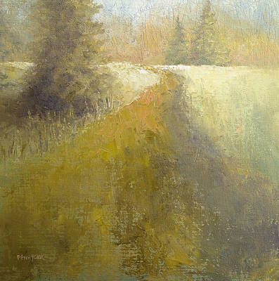 Painting - The Path by Bob Pennycook