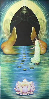 Painting - The Path by Claudette Dean