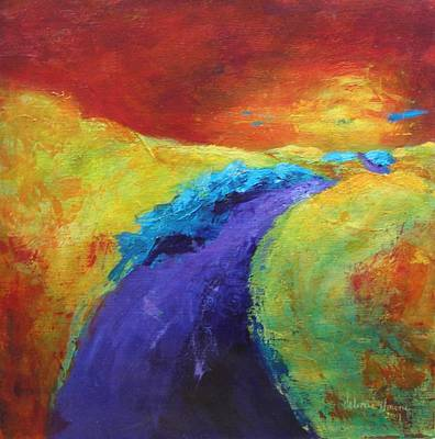 Painting - The Path Continues by Valerie Greene