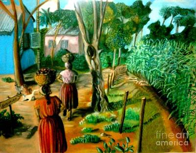 Painting - The Path by Jose Breaux