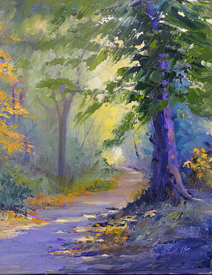 Painting - The Path by Judy Fischer Walton
