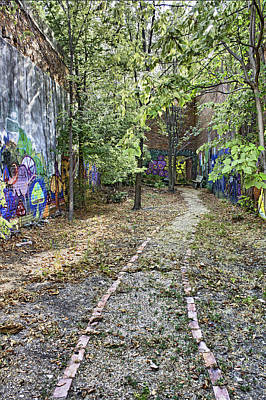 Photograph - The Path Of Graffiti by Jason Politte