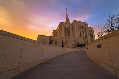 Lds Photograph - The Path Of Righteousness by Dustin  LeFevre