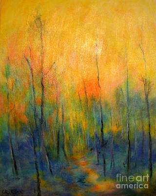 The Path To Forever Art Print by Alison Caltrider