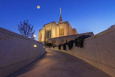 Photograph - The Path To Ogden Temple by Dustin  LeFevre