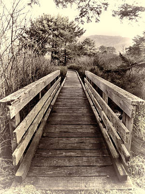 Photograph - The Path Unknown by HW Kateley