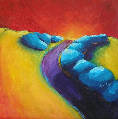 Painting - The Path by Valerie Greene