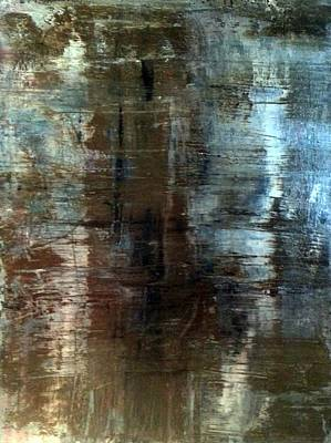 Refection Painting - the Pathway by Tanya Lozano Abstract Expressionism