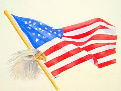 The Patriot Art Print by Julia Rietz
