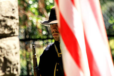 Against The War Photograph - The Patriot by Steven Bateson